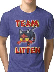 Team Litten ! Tri-blend T-Shirt