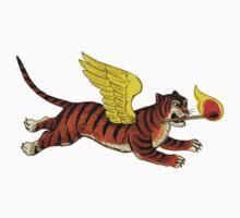 Tiger, Tiger - flying tiger Kids Tee