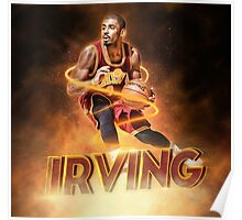 Speed Ball Kyrie Poster
