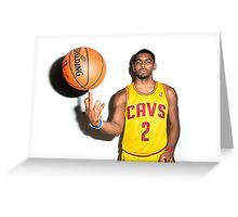 Funny Face Kyrie Greeting Card