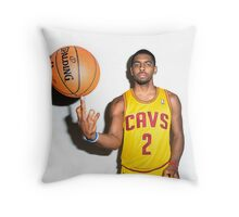 Funny Face Kyrie Throw Pillow