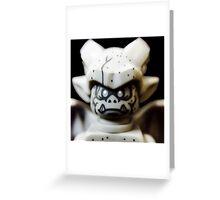 Lego Gargoyle minifigure Greeting Card
