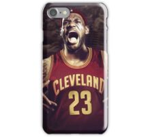 Beast mode James iPhone Case/Skin