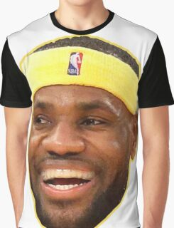 Cropped Face of James Graphic T-Shirt