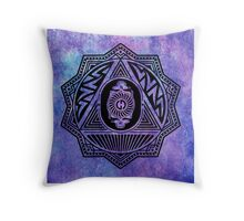 Grateful Dead Steal Your Face Mandala Throw Pillow