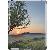 Cornwall: Sunset over Roughtor iPad Case/Skin