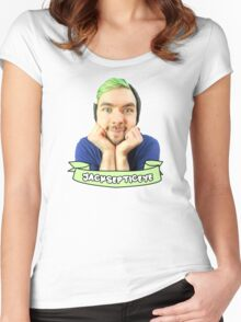 jacksepticeye! Women's Fitted Scoop T-Shirt