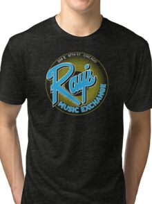 Ray's Music Exchange - Blue Variant Tri-blend T-Shirt