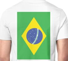 BRAZIL, BRAZILIAN FLAG, Flag of Brazil, Portrait, Football, Sport, Olympics, Pure & Simple Unisex T-Shirt