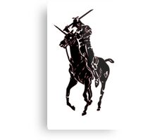 samurai polo Metal Print