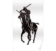 samurai polo Poster