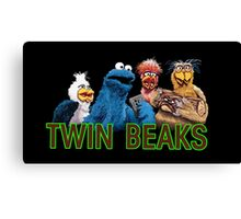 Twin Beaks Canvas Print