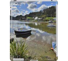 Cornwall: Low Tide at Lerryn iPad Case/Skin