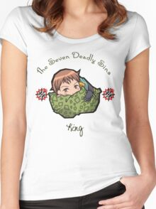 Chibi King Women's Fitted Scoop T-Shirt