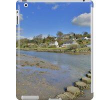 Cornwall: Stepping Stones at Lerryn iPad Case/Skin