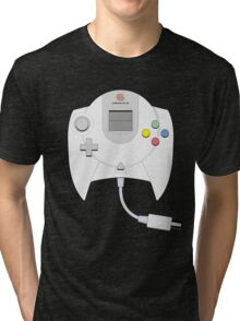 Dreamcast Controller Tri-blend T-Shirt