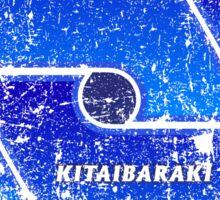 Kitaibaraki - Ibaraki - Prefecture of Japan - Distressed Sticker