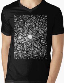 Nest Of Light black and white Mens V-Neck T-Shirt