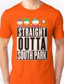 Straight outta South Park Unisex T-Shirt