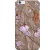 Dried Flowers - 1 iPhone Case/Skin