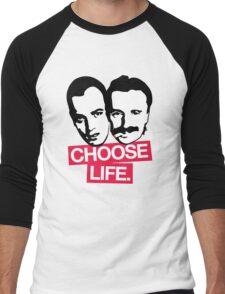 Choose Life Men's Baseball ¾ T-Shirt
