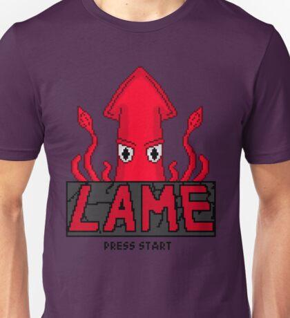 LAME Squid Pixel Art Unisex T-Shirt
