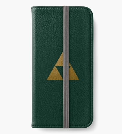 Legend of Zelda Gold Triforce iPhone Wallet/Case/Skin