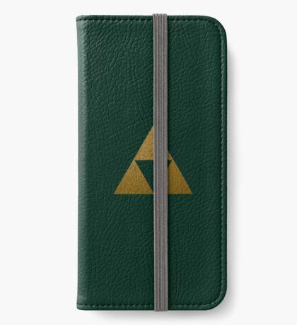 Legend of Zelda Gold Triforce iPhone Wallet/Case/Skin
