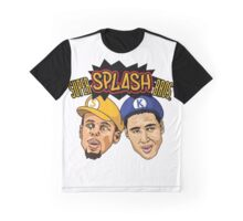 Caricatures of Splash brothers Graphic T-Shirt