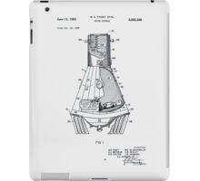 Space Capsule Patent 1963 iPad Case/Skin