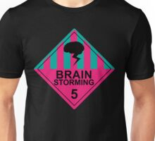Brain Storming- Pink & Blue Unisex T-Shirt