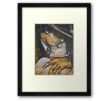 Lovers - Casablanca Framed Print
