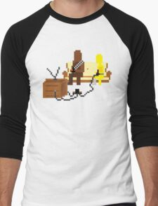 Let the Wookie Win Men's Baseball ¾ T-Shirt