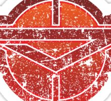 Zama - Kanaga - Prefecture of Japan - Distressed Sticker