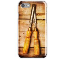 Old Chisels iPhone Case/Skin
