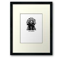 MF DOOM GAME OF THRONES PARODY Framed Print