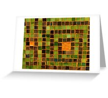Tiles Greeting Card