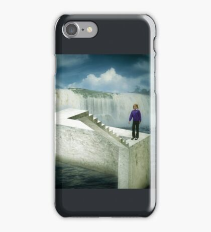Unstairs iPhone Case/Skin