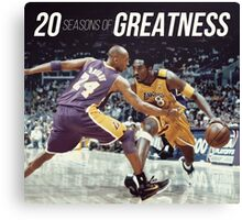 20 years of Greatness Canvas Print