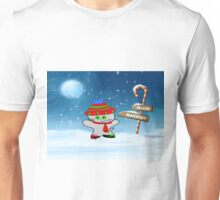 Cat Wishes For Happy Holidays Unisex T-Shirt