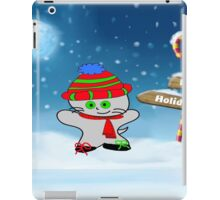 Cat Wishes For Happy Holidays iPad Case/Skin