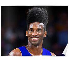 Afro Kobe Poster