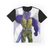 Bazooka Azure Graphic T-Shirt