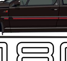 Volvo 480 (black) Sticker