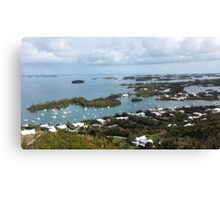 Bird's Eye Island Canvas Print