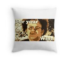 Dr. Steve Brule For Your Wine Throw Pillow