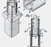 Lipstick Case Patent Sticker