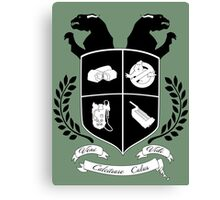 Ghostbusters Family Crest (Green) Canvas Print