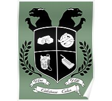 Ghostbusters Family Crest (Green) Poster