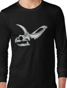 Triceratops Skull Long Sleeve T-Shirt